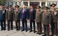 И. Зуга принял участие впраздничных мероприятиях, посвященных 70-летию Победы