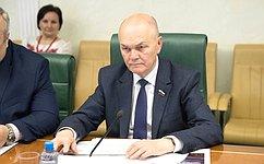 М.Щетинин провел совещание опроблемах своевременного информирования граждан при возможной угрозе аномальных погодных явлений
