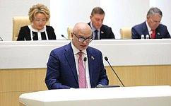 А. Клишас представил назаседании СФ информацию орезультатах рассмотрения кандидатур надолжности первого заместителя Генерального прокурора ипрокуроров