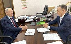 О. Алексеев обсудил ссаратовскими аграриями проект федерального закона «Осеменоводстве»