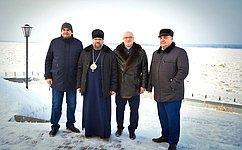А. Клишас встретился справящими архиереями Красноярской иЕнисейской епархий