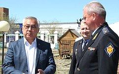 Б. Жамсуев: Особое внимание вАгинском Бурятском округе уделяется военно-патриотическому воспитанию молодежи