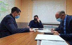 С. Колбин входе приема граждан обсудил вопросы ЖКХ, атакже предложения инициативных групп севастопольцев