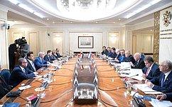 ВСовете Федерации заинтересованы вдальнейшем развитии иуглублении отношений сегипетскими парламентариями— И.Умаханов