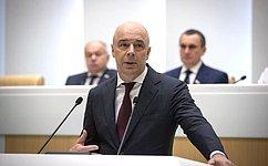 А. Силуанов рассказал ореализации единого плана деятельности Правительства подостижению национальных целей вобласти экономики