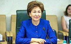 Совет Федерации рекомендует поддержать воронежской опыт социального обслуживания всельской местности– Г.Карелова