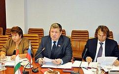 Е. Бушмин утвержден сопредседателем отроссийской части комиссии посотрудничеству Совета Федерации иНационального собрания Таджикистана