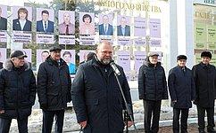 О. Мельниченко принял участие вторжественном открытии обновлённой Галереи Почета работников ЖКХ вПензе