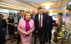ВСовете Федерации открылась выставка «Вологодская область– душа Русского Севера»