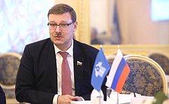 ВСанкт-Петербурге прошло заседание Постоянной комиссии МПА СНГ
