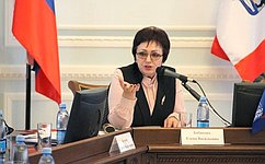 Е.Бибикова: Для решения проблем людей старшего поколения необходим комплексный подход, единый для всех регионов
