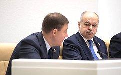 Сенаторы проинформировали овыполнении протокольных поручений СФ ипредложили новые темы для парламентского контроля