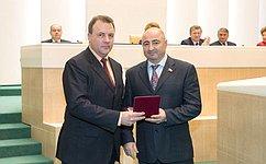 А.Вайнбергу вручили высокую государственную награду