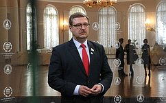 МПС может внести конструктивный вклад вразрешение трагедии вМьянме– К.Косачев