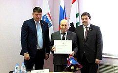 Сенаторы отЛенинградской области провели встречи спредставителями региональной общественности
