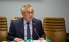 Б. Жамсуев провел заседание Секции малых исредних предприятий оборонно-промышленного комплекса России
