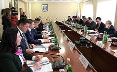 В.Рязанский: План развития Кисловодска стал итогом слаженной работы федеральных, региональных органов власти икомитетов СФ