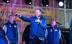 В.Абрамов дал старт круглосуточному вещанию первого муниципального телевидения Подольского округа