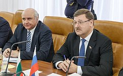 Парламентское взаимодействие– серьезный фактор развития российско-болгарских отношений— К. Косачев