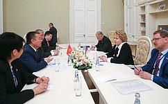 В.Матвиенко: УРоссии иКиргизии большие перспективы двустороннего сотрудничества