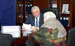 В. Наговицын обсудил сжителями Улан-Удэ вопросы всфере жилищно-коммунального хозяйства иблагоустройства