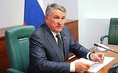 Ю. Воробьев: Вырабатывается повестка восьмого заседания Межпарламентской комиссии помежрегиональному сотрудничеству России иБеларуси