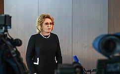 В. Матвиенко: Парламентарии России иАзербайджана активизируют взаимодействие для реализации договоренностей, достигнутых Президентами двух стран