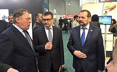 С. Белоусов принял участие вработе международной выставки продуктов вГермании