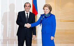Отношения между Россией иТаджикистаном находятся наподъеме— В. Матвиенко