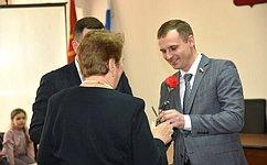 Сенатор Сергей Леонов принял участие вторжественном вручении медалей «75 лет Победы вВеликой Отечественной войне 1941–1945гг.»