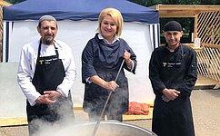 Л.Гумерова: Благотворительная акция «Добрый плов» объединила тысячи уфимцев вжелании помочь детям
