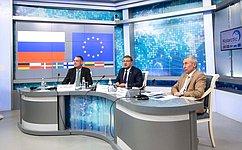 К.Косачев: Палата регионов уделяет пристальное внимание вопросам развития приграничного сотрудничества