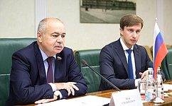 И.Умаханов: Совет Федерации иСенат Франции настроены наконструктивную иэффективную работу
