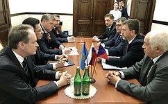 А.Башкин: Расширение связей между Астраханской областью ичешскими регионами— путь кразвитию экономики иукреплению доверия