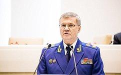 Сенаторы утвердили Ю.Чайку вдолжности Генерального прокурора Российской Федерации