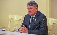 Парламентарии России иБеларуси продолжают укреплять взаимодействие— Ю.Воробьев