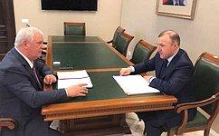 О.Селезнев принял участие вочередном заседании Государственного Совета— Хасэ Республики Адыгея