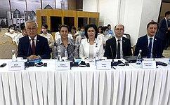 Б. Жамсуев вБухаре принял участие вМеждународном форуме глобального парламентского сотрудничества вдостижении Целей устойчивого развития