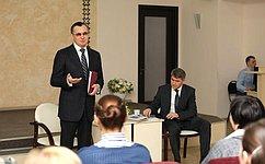Н. Федоров провел встречу спредставителями библиотечного сообщества Республики Чувашия