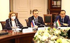 Виктор Новожилов выступил срядом инициатив наМежпарламентской Ассамблее стран СНГ