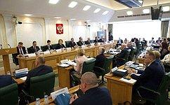 ВСовете Федерации состоялись парламентские слушания посвященные развитию сельской школы вРоссии