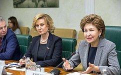 ВСовете Федерации состоялось заседание рабочей группы поподготовке Форума «Здоровье женщин– благополучие нации»