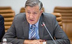 В. Межевич: Сенаторы предложат конкретные меры поразвитию ОЭЗ вКалининграде
