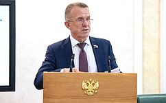 В. Кравченко врежиме удаленного доступа принял участие взаседании Законодательной Думы Томской области