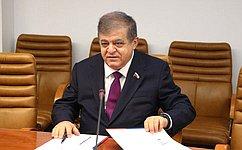 Российские иармянские парламентарии развивают взаимодействие намеждународных площадках— В.Джабаров