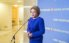 В. Матвиенко: Мы сделаем всё, чтобы наукраинской земле воцарился мир