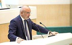 Сенаторы одобрили закон оборганизации деятельности региональных общественных палат