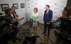 В.Матвиенко: Федеральные власти будут делать все для успешного развития Севастополя