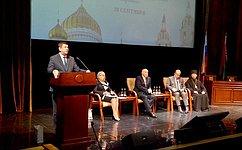В. Смирнов: Важно придать новый импульс популяризации общего духовно-культурного наследия народов России иБеларуси