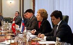 Спикер СФ иПрезидент Федерального совета Австрии обсудили активизацию межпарламентского взаимодействия